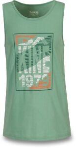 New 2019 Dakine Men's Ripstack Tank Top Sleeveless Shirt Large Feldspar Green