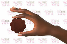 DARK SKIN NIPPLE COVER / DISPOSABLE / PACK OF 4 / DISPOSABLE ** FREE & FAST **