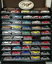 Danbury Mint 1:43 Scale  50 Years of the Corvette 49 Cars and display