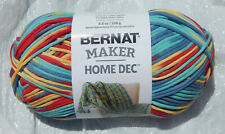 Bernat Maker Home Dec Yarn in Fiesta Variegated #11014 - New & Smoke Free Home