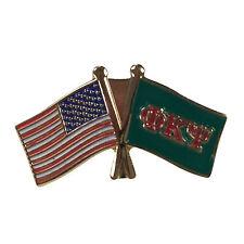 Phi Kappa Psi Flag and USA Flag Lapel Pin
