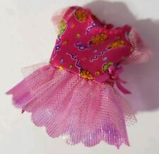 BARBIE DOLL CLOTHES KELLY PINK ORANGE BLUE BALLOON BIRTHDAY PARTY DRESS SHIMMERY