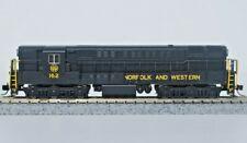 Atlas N Scale Trainmaster, Norfolk & Western. Road # 162. As New.