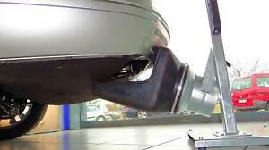 MERTNER Vorstelltrichter STI 250x250mm DN 125 Abgasabsaugung
