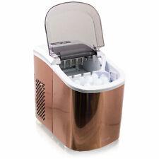 Design Edelstahl Eiswürfelmaschine Eiswürfelbereiter IceMaker Maschine Kupfer