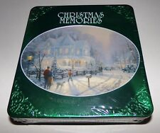 Christmas Memories A Holiday Gathering 3 CD Set Thomas Kinkade 6 Post Cards NEW