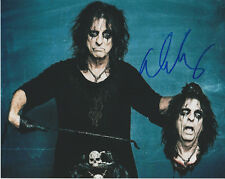 ALICE COOPER Rock Legend SIGNED 8X10 Photo j Hey Stoopid I Never Cry PROOF