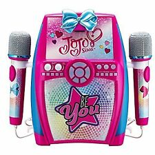 Jojo Siwa Deluxe Sing Along Karaoke Recording Studio With Dual Microphones