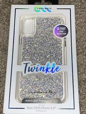 IPHONE X XS PHONE CASE CASEMATE TWINKLE IRIDESCENT EFFECT NEW