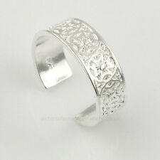 Plata Esterlina 925 Plateado Cruz Celta Anillo toe/pinkie Anillo Ajustable. Maltés