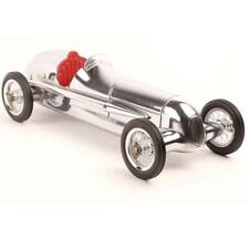 Silver Arrow Silberpfeil silver polished Aluminium small Race Car Red seats
