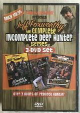 JEFF FOXWORTHY The Complete Incomplete deer Hunter Series DVD 3-Disc Set