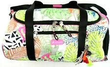 Sakroots Jungle Duffle Bag Mint Side Shoe Bag Pouch Discontinued Retired Print