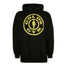 Golds Gym Mens - Logo - Pullover Hood - Black