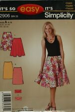 """Simplicity """"It's so Easy""""-Skirts & Purse  Size 8-18"""