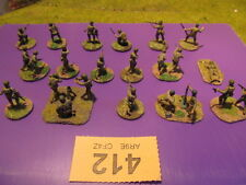 VG Painted US Army Rangers D-Day Wargames Miniatures 1:72 20mm #412