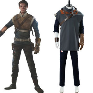 Star Wars Jedi: Fallen Order Cal Kestis Cosplay Costume Outfit Full Set