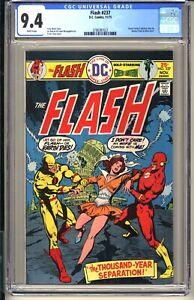 FLASH #237  CGC 9.4 WP NM  DC Comics 1975  Green Lantern  Reverse-Flash app