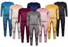 Vêtements survêtement à manches longues en polyester pour fille de 2 à 16 ans