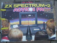 sinclair zx spectrum +2 Action Pack Plus 130 Cassette Games