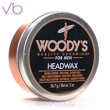 WOODY'S Quality Grooming For Men Headwax - Natural Beeswax, High Shine