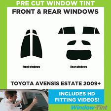 Pre Cut Window Tint - Toyota Avensis Estate 2009+ - Full Kit
