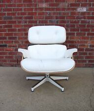 2010's white ash Eames for Herman Miller 670 lounge chair