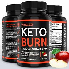 Pure Keto Burn Weight Loss Diet Pills Ketogenic 1000mg BHB Supplement Capsule
