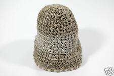 NUEVO Coccinelle Elegante Mujer Sombrero Gorra De Paja Ala Ancha 1-15 (59)
