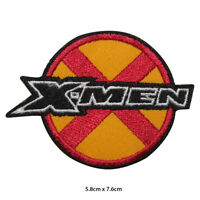 X Men Super Hero Movie Embroidered Patch Iron on Sew On Badge For Clothes etc