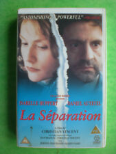 LA SEPARATION    -    BIG BOX ORIGINAL  RARE & DELETED