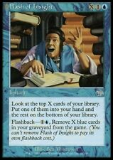MTG 4x FLASH OF INSIGHT - Judgment *DEUTSCH*