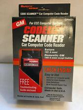 New Sunpro Code Scanner CP9001, Car Computer Code Reader GM, 1982 & up