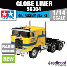 56304 Tamiya Globe Liner Truck 1/14th R/C Radio Control Assembly Model Kit