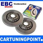EBC Bremsscheiben VA Premium Disc für Nissan Almera 2 N16 D507
