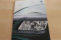 132454) VW Bora Prospekt 12/2001