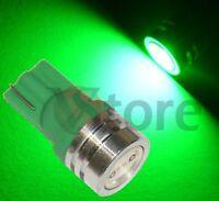 2 LED T10 SMD Verde XENON Lampade Luci Per Targa e Posizione W5