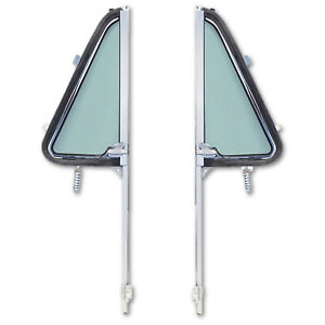 Drivers 1964 65 66 C10 Pickup Door Glass Assembly