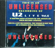 U2  *LIVE VOL.6* MEGA RARE OZ ONLY LIVE CD AMCOS SW 60 LIKE NEW
