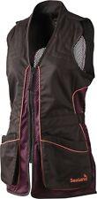 Seeland Ladies Skeet Waistcoat Lady Shooting Vest Mesh Black Bean
