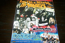 METAL HAMMER MAGAZINE 6/2009 IRON MAIDEN VOIVOD POWERWOLF LACRIMOSA TYR