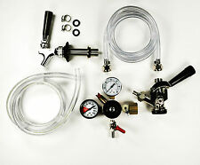 Beer kegerator kit, refrigerator conversion kit. free faucet wrench and tap cap