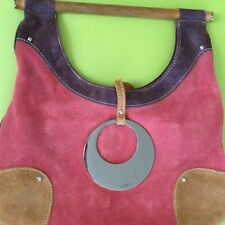 GUESS USED VERY NICE SUEDE PURSE MSRP $98