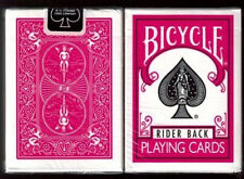 Bicycle Fuchsia Rider Back Playing Cards Decks New