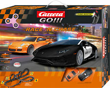Carrera GO!!! Race´n Chase Set / Grundpackung 62439 PLUS 3 GRATIS Handspinner