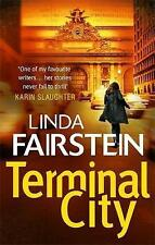 Terminal City, Linda Fairstein, Paperback, New Book