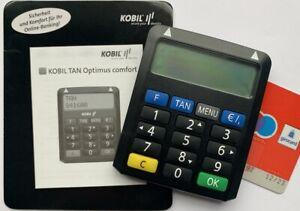 TAN Generator KOBIL Chip-TAN Optimus comfort Online Banking Sparkasse Bank Post