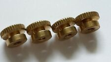 Set 4 Brass HT Terminal Spark Plugs Thumbscrews Vintage Tractor Fordson Case IHC
