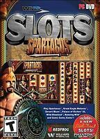 WMS Slots: Spartacus PC DVD Game DISC & COVER ART ONLY NO CASE UNUSED CONDITION