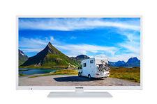 Telefunken XH24E401V-W Fernseher 24 Zoll HD-TV Smart TV, 12V, Triple Tuner weiß